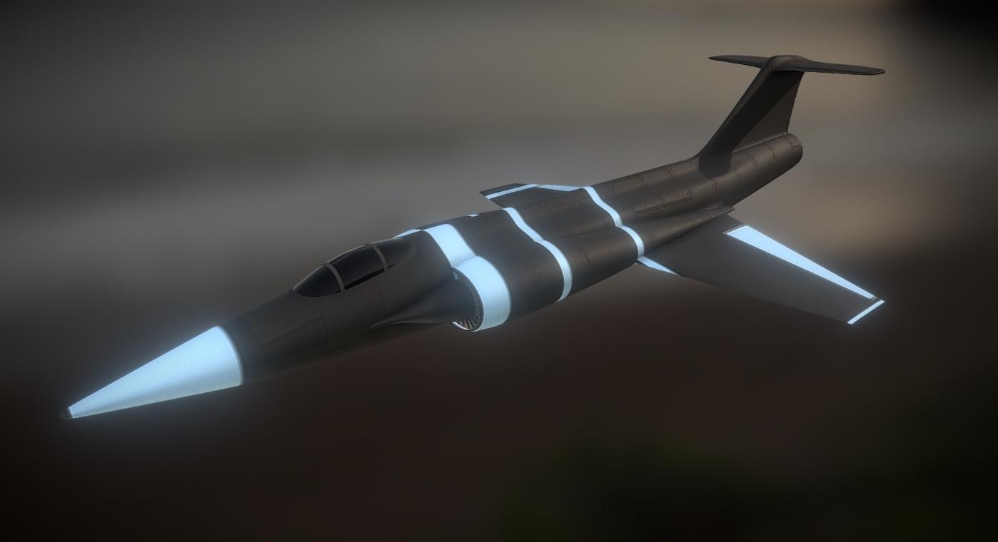F-104 - Custom - Stylized