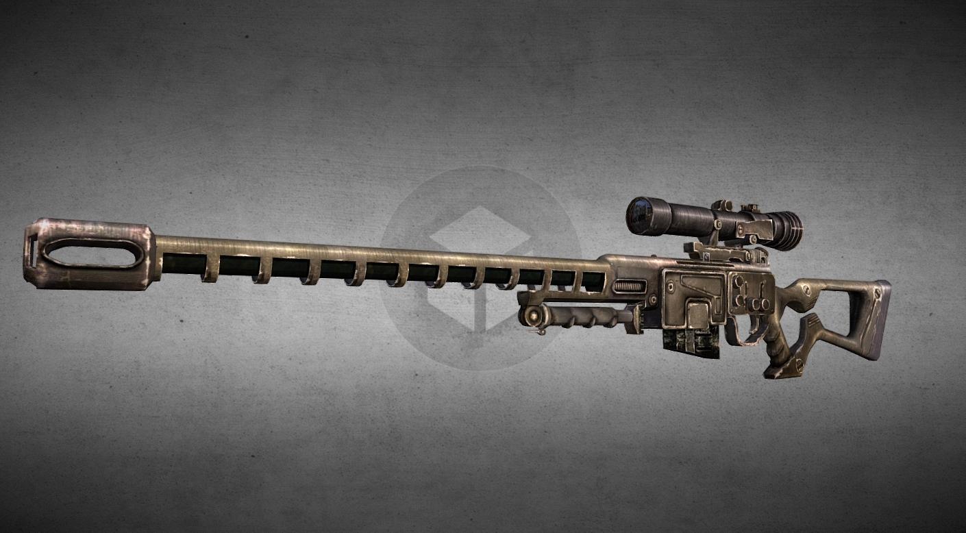 Fallout New Vegas: Sniper Rifle