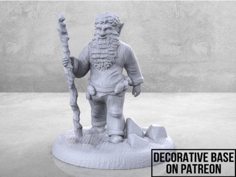 Forest Gnome - Tabletop Miniature