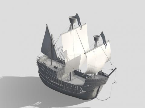 Henseatic League Ship