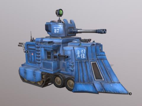 Iron-Chin 87 Truck Tank