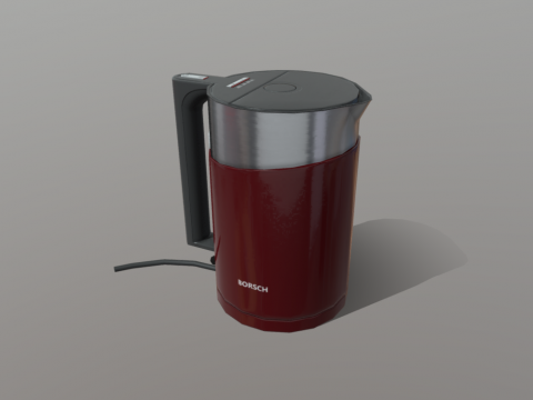 Kettle Low Poly