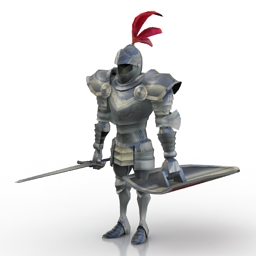 Knight Armour 3d model