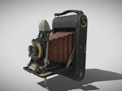 Kodak Pocket No3 E Camera circa 1912