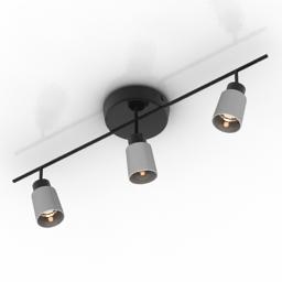 Lamp spot IKEA BASICS 3d model