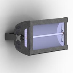 Lamp street stroboscope Atomic 3000 DMX 3d model