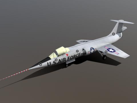 Lockheed NF-104A