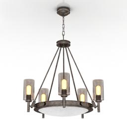 Luster Hinkley Lighting Collier 3385HB 3d model