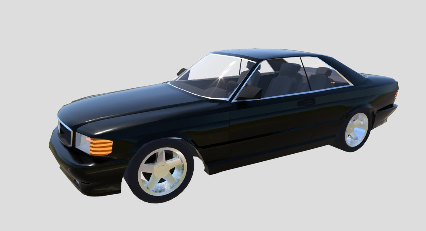 MB W126 sec