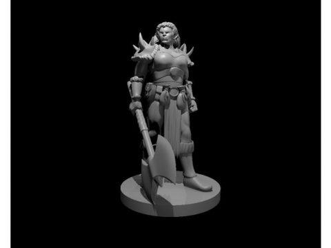 Orc Female Warrior