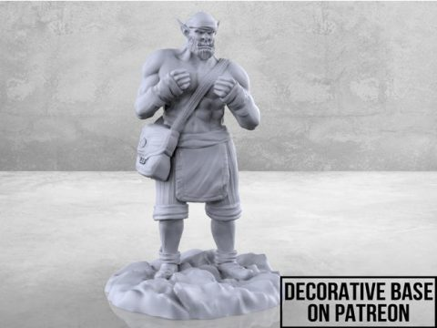 Orc Monk - Tabletop Miniature