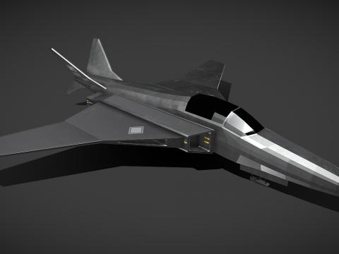 Sci-Fi Fighter Jet