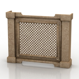 Screen radiator 3d model