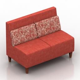 Sofa Brend DLS 3d model