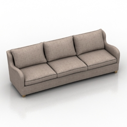Sofa Nottingham 290 Dantone home 3d model