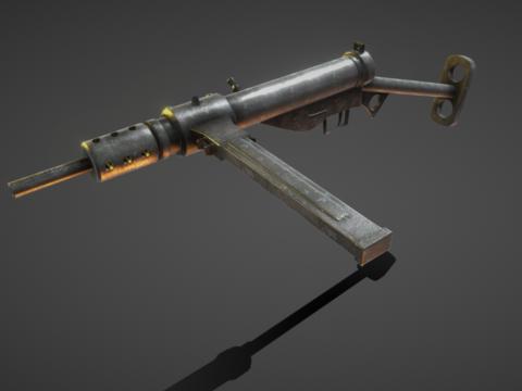 Sten gun Mk2 British sub machine gun