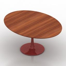 Table Chromcraft Formdecor 3d model