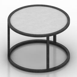 Table Rondo Formdecor 3d model