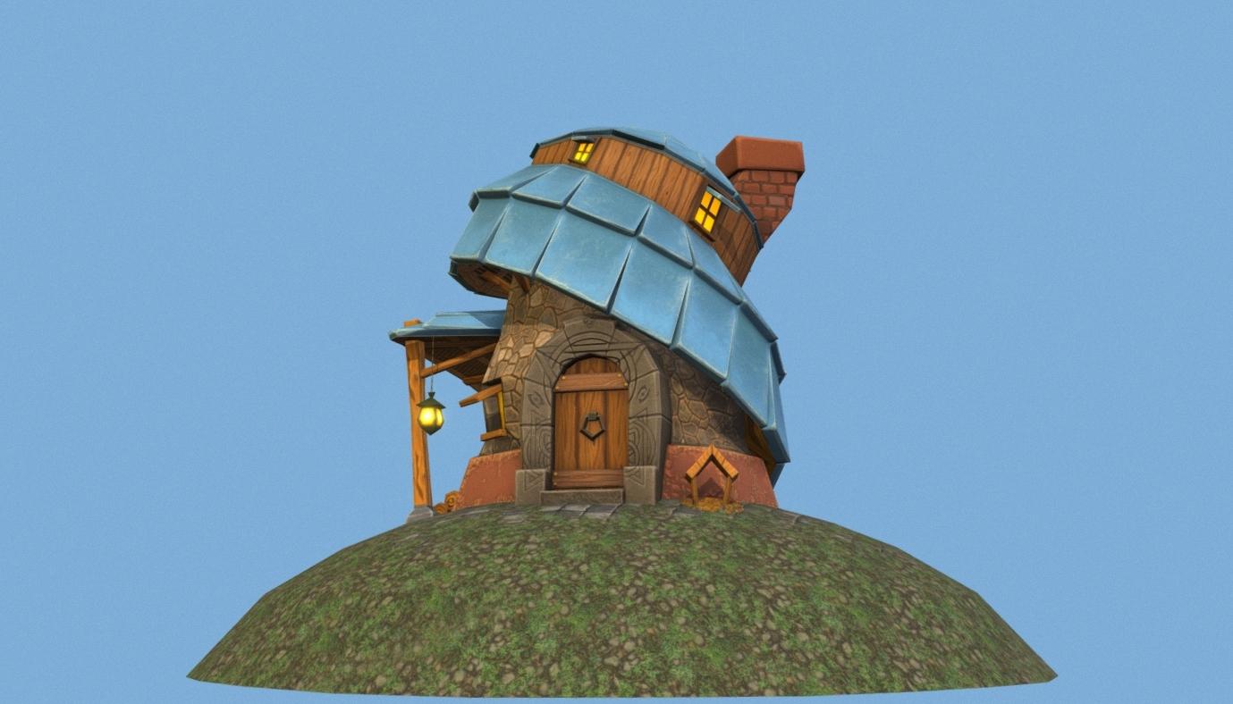 Witch House (Stylized)