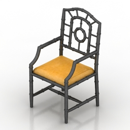 Armchair Chloe 3d model