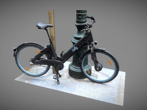 Bicyle Scene