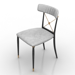 Chair Jonathan Adler Rider 3d model