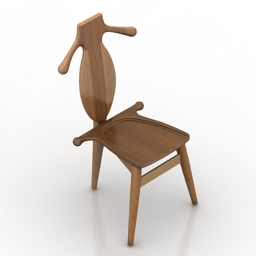 Chair werner 3d model