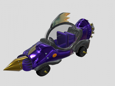 Dick Dastardly Car