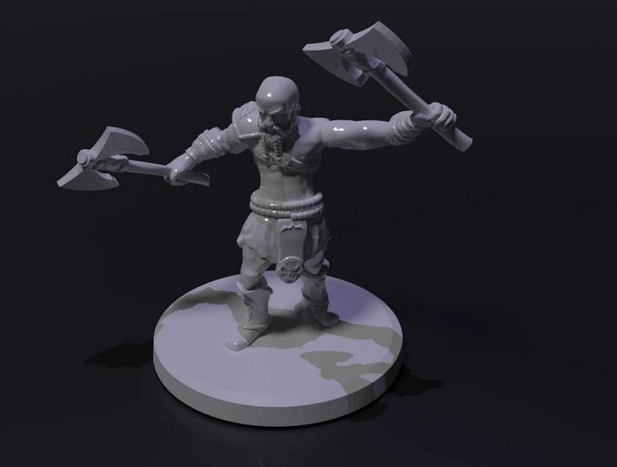Dwarfen Barbarian