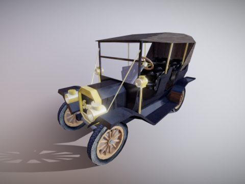 Ford Model T by Rob Mikelsons