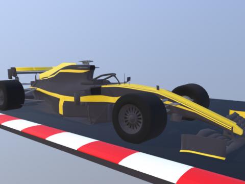 Formula 1 car - RS19