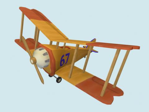 Gelders Lion Game Art Plane