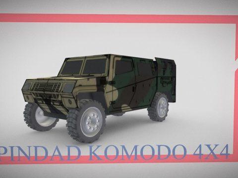 Pindad Komodo 4x4 Missile Launcher Variant