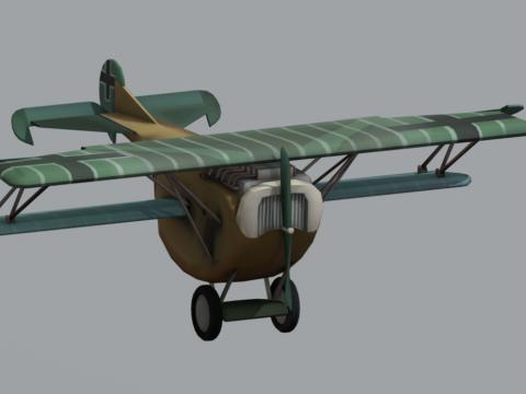 Plane - Fokker v7