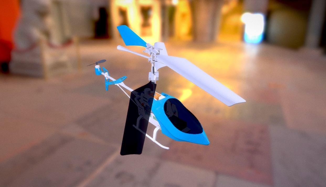 RC Helicopter Animation