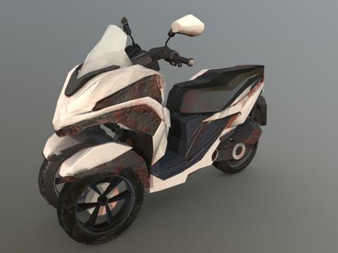 Rusted Yamaha Tricity 125
