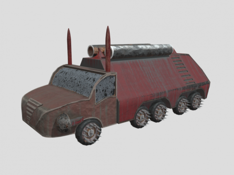 Scrapyard Future Vehicle
