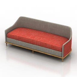 Sofa George Smith 3d model