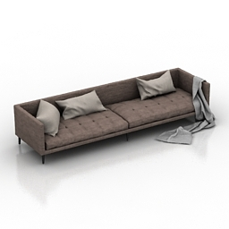 Sofa cloth 3d model