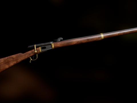 Swiss Vetterli M78 Infantry Rifle