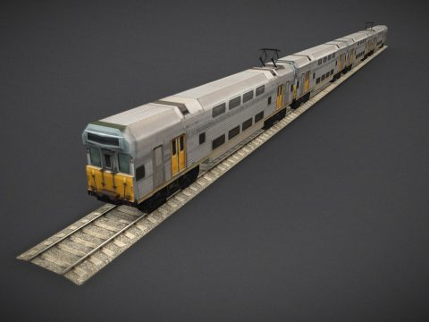 Sydney Trains S Set Low Poly