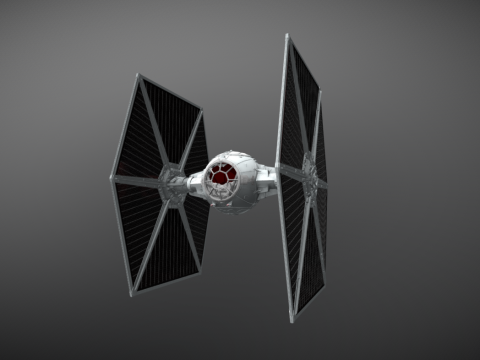 TIE-fighter from STAR WARS