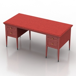 Table Stafford Dantone Home 3d model