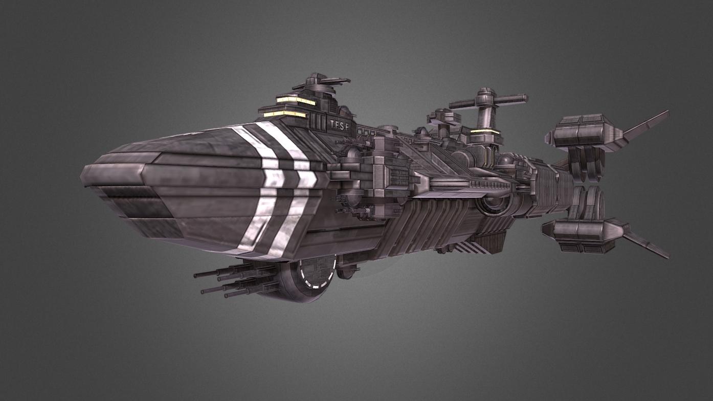 Terran Federation Rodger Young Cruiser Redesign