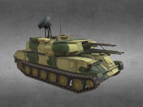 USSR ZSU-23 Shilka