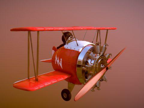 Fly Baron Rojo