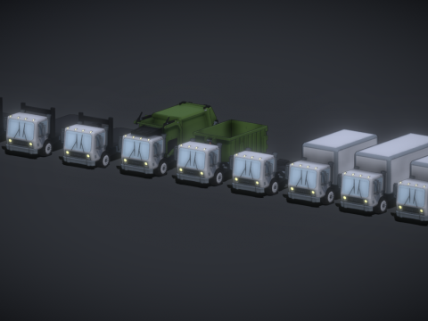 Marv Truck Set