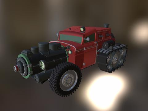 Steam engine Hotrod