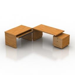 Table SMANIA Boston 3d model