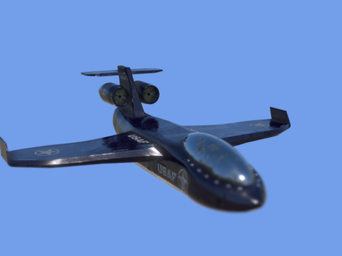 War plane low poly